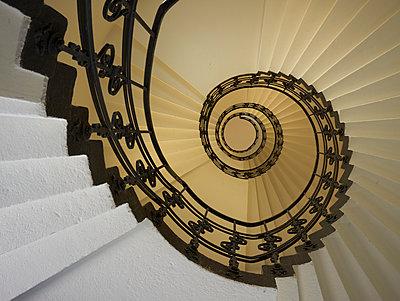 Treppenhaus der Oberpostdirektion - p1696m2294366 von Alexander Schönberg