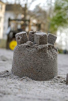 Sand castle - p2600102 by Frank Dan Hofacker