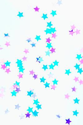 Confetti stars - p1149m2043380 by Yvonne Röder