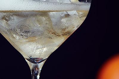 Champagner mit Gin Tonic - p913m1476152 von LPF