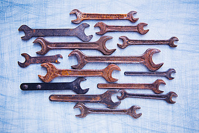 Screw wrenches - p1149m2021457 by Yvonne Röder