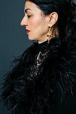 Elegant woman - p1621m2263328 by Anke Doerschlen