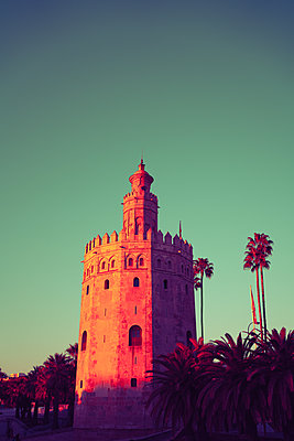 Fortified tower, Torre del Oro, Sevilla - p1681m2283665 by Juan Alfonso Solis