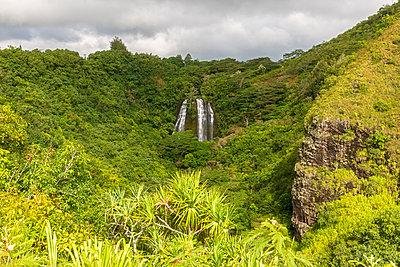 USA, Hawaii, Kauai, Wailua State Park, Opaekaa Falls - p300m2103093 von Fotofeeling