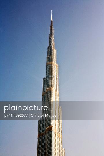 Burj Khalifa - p741m892077 von Christof Mattes