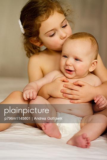 Geschwister - p796m1145801 von Andrea Gottowik