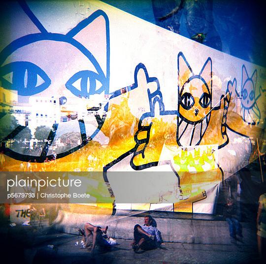 Street art - p5679793 by Christophe Boete