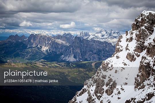 Bergpanorama - p1234m1051478 von mathias janke