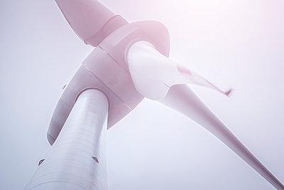 Windrad aus der Froschperspektive - p1275m1423864 von cgimanufaktur