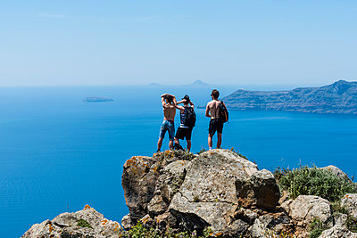Oia, Greece - p488m1039618 by Bias