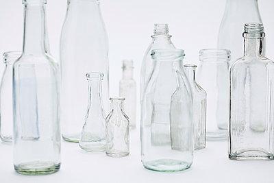 Glasflaschen - p1006m1040331 von Danel