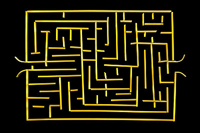 Labyrinth - p676m1104826 by Rupert Warren
