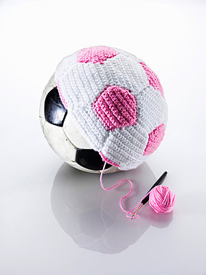 Crocheted football - p8510209 by Lohfink