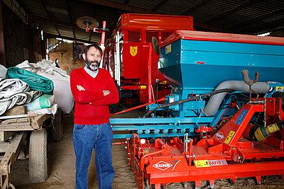 Landwirt - p1058m831626 von Fanny Legros