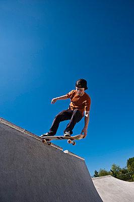 Skateboard fahren - p2200802 von Kai Jabs