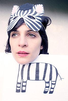 Zebra - p5200069 von Jasmin Noé