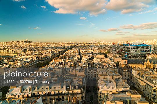Blick über Paris - p1332m1502780 von Tamboly