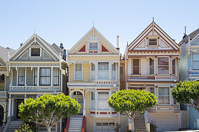 Houses in San Francisco, California - p352m2040293 by Andreas Ulvdell