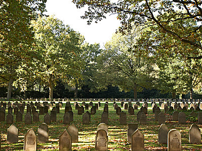 Friedhof - p1092m900083 von Rolf Driesen