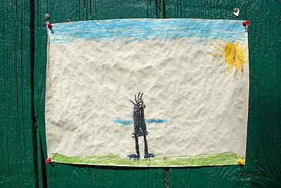 Kinderzeichnung - p260m912581 von Frank Dan Hofacker