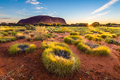 Uluru (Ayers Rock), Uluru-Kata Tjuta National Park, Northern Territory, Central Australia, Australia. - p651m2006270 by Marco Bottigelli
