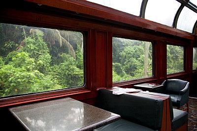 Panama Canal Railway - p672m1144523 von Vanessa Chambard