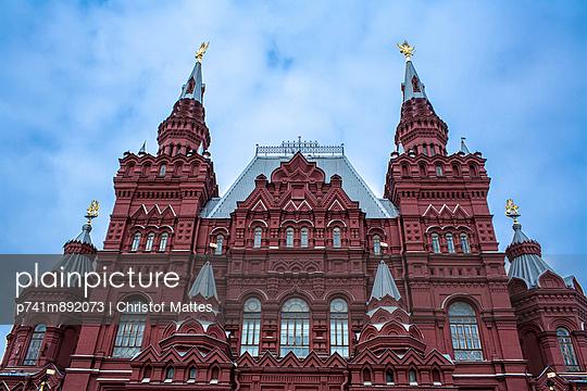 Staatliches Historisches Museum Moskau - p741m892073 von Christof Mattes