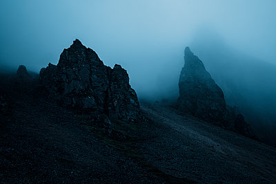 Cragged mountains - p1585m2285243 by Jan Erik Waider