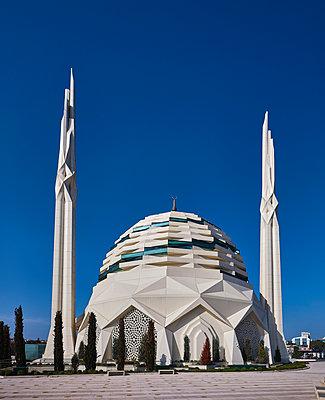 Türkei, Istanbul, Marmara-Universität, Moschee der Fakultät für Theologie - p390m2254439 von Frank Herfort