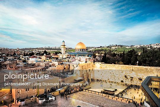 Jerusalem - p416m1498087 von Jörg Dickmann Photography