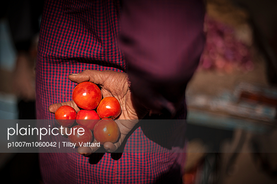Indian woman - p1007m1060042 by Tilby Vattard