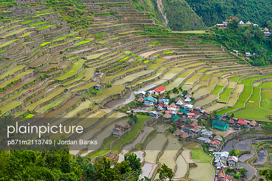 Batad, UNESCO World Heritage Site, Luzon, Philippines, Southeast Asia, Asia - p871m2113749 by Jordan Banks
