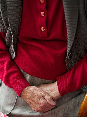 Elderly woman - p6060613 by Iris Friedrich