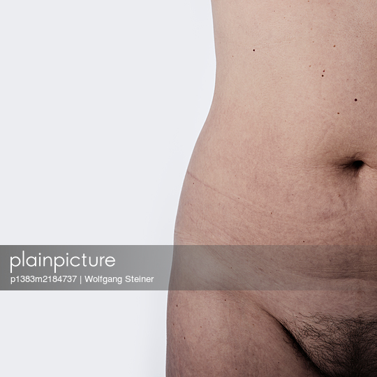 Woman with pubic hair - p1383m2184737 by Wolfgang Steiner