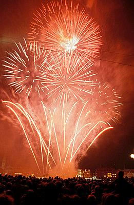 Fireworks - p1790040 by Roland Schneider