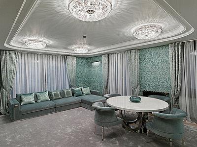 Plushy living room - p390m881034 by Frank Herfort
