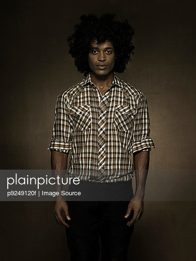 Portrait of a young man - p9249120f by Image Source