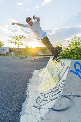 Skateboarding - p1362m1227745 by Charles Knox