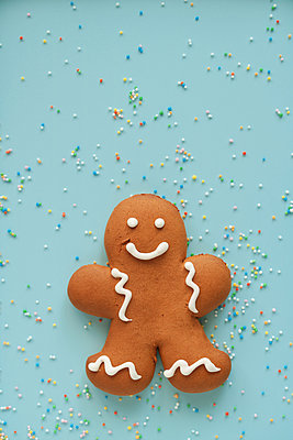 Gingerbread man - p450m2043332 by Hanka Steidle