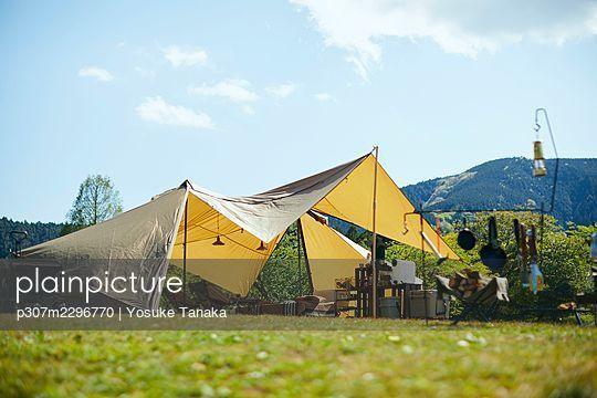 Camping - p307m2296770 by Yosuke Tanaka
