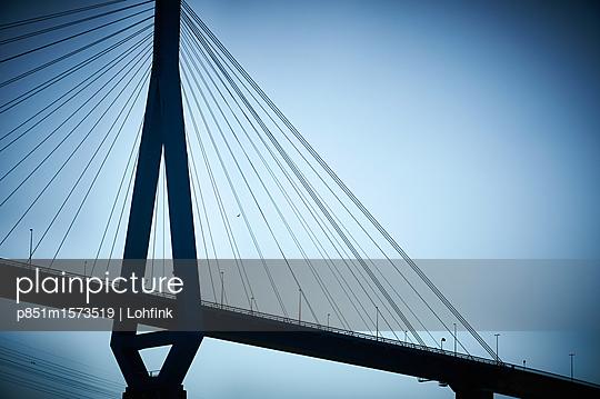 Köhlbrandbrücke Hamburg - p851m1573519 von Lohfink
