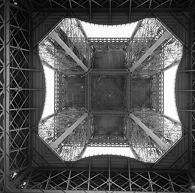 The Eiffel Tower Paris France - p312m1076665f by Peter Rutherhagen