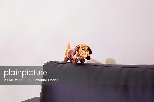 Crochet Dachshund - p1149m2296662 by Yvonne Röder