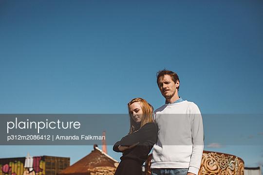 Couple together - p312m2086412 by Amanda Falkman