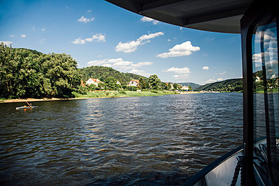 Elbe River Cruise - p1085m1105027 by David Carreno Hansen