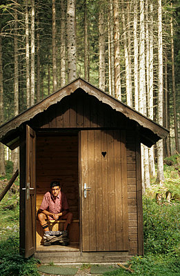 The outhouse - p2510066 by Sebastian Schöneberg
