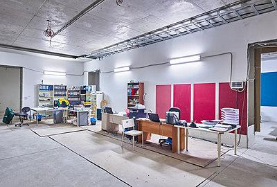 Baustellenbüro - p390m1510853 von Frank Herfort