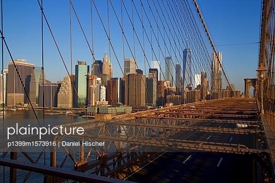 Brooklyn Bridge - p1399m1573916 von Daniel Hischer