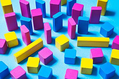Toy blocks - p1149m2028486 by Yvonne Röder