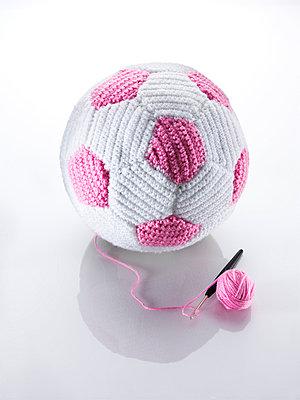 Crocheted football  - p8510064 by Lohfink